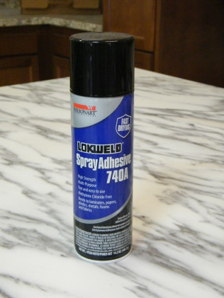 LOCKWELD FAST DRYING ADHESIVE 740A